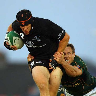 Connacht flanker Johnny O'Connor in action