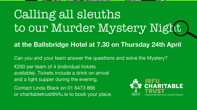 Murder At The Aviva - Calling All Sleuths