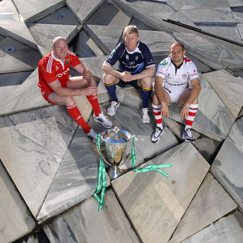 Heineken Cup's Irish Launch, Grand Canal Theatre, Dublin, Monday, October 4, 2010