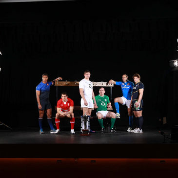 The RBS 6 Nations captains