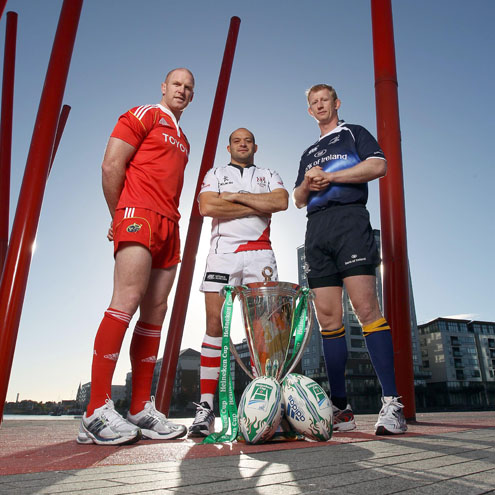Munster, Ulster and Leinster still have European silverware in their sights