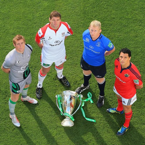 Heineken Cup Irish Launch At The Aviva Stadium, Dublin, Tuesday, October 2, 2012