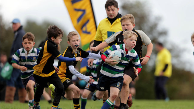 Irish Rugby TV: Sun Shines On Aviva Minis In Carlow