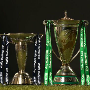 The most coveted trophies in European club rugby