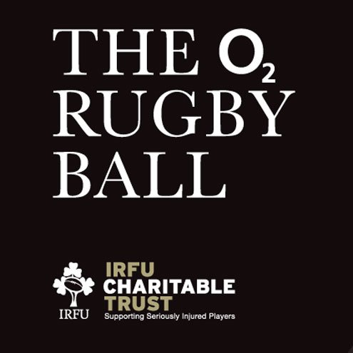 The O2 Rugby Ball in aid of the Charitable Trust. Buy your ticket online now