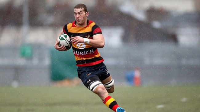 Lansdowne's Butterworth On The Way To Ulster