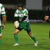 Out-half Chris Burton landed two excellent first half drop goals, helping Benetton Treviso take a 12-10 half-time lead