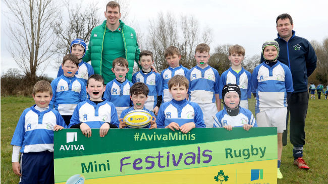 Aviva Minis A Huge Success In Tullamore and UL Bohs