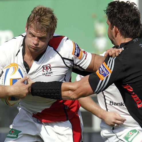 Ulster's Chris Henry in action against Aironi