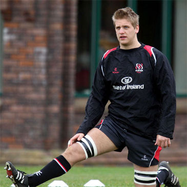 Chris Henry training with Ulster at Newforge