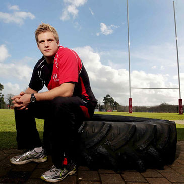 Chris Henry at Ulster's Newforge training ground