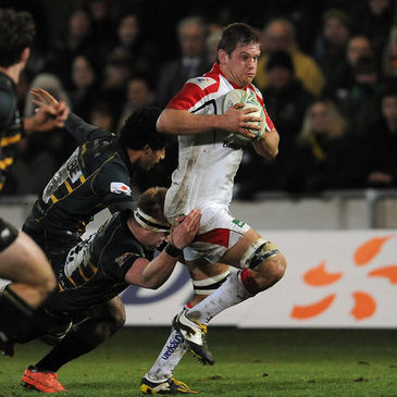 Chris Henry in action against Northampton Saints