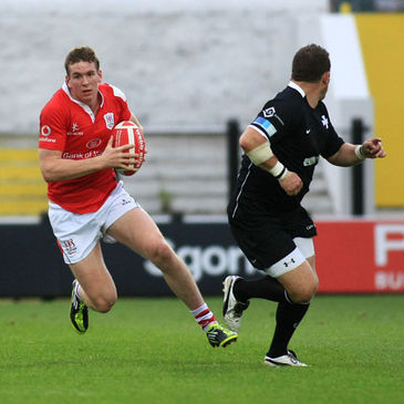 Teenager Christopher Farrell made his first start for Ulster