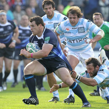 Cian Healy in action against Racing Metro
