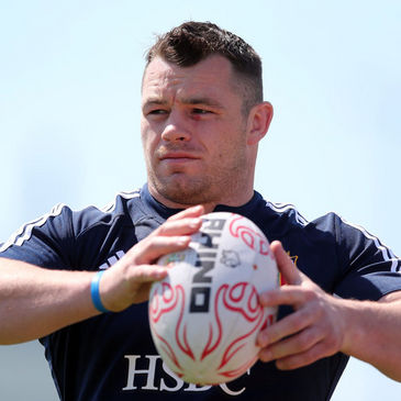 British & Irish Lions prop Cian Healy