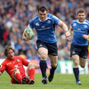 Cian Healy made a memorable burst in the second half for Leinster, leaving Toulouse's Cedric Heymans in his wake