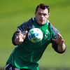 Having recovered from an eye socket injury, Cian Healy will make his World Cup debut against Australia. He burst onto the international stage against the Wallabies back in November 2009