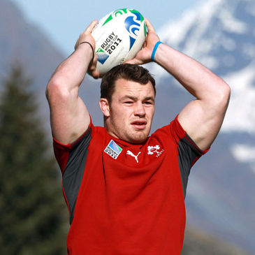 Cian Healy is pictured during a training session this week