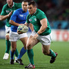 Into the second half, Ireland began to hurt the Italians with ball in hand. The likes of Cian Healy (pictured), Sean O'Brien and Stephen Ferris all caused some damage