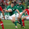 As Ireland hunted for a couple of late tries, powerful prop Cian Healy tried to punch a hole in the Welsh defence