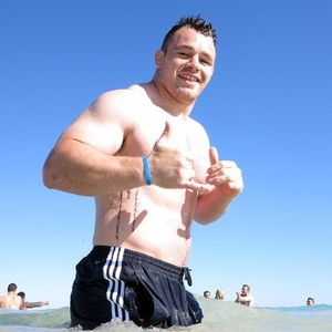British & Irish Lions' Recovery Session, City Beach, Perth, Australia, Monday, June 3, 2013
