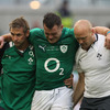 Suffering from a bruised foot, try-scoring prop Cian Healy had to be replaced in the 50th minute by Tom Court