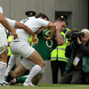 Ireland took the lead thanks to a Jonathan Sexton penalty and prop Cian Healy muscled his way over for the opening try