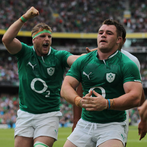 Photos of Ireland's GUINNESS Summer Series clash with France