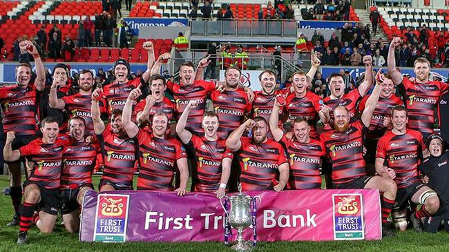 City Of Armagh Are Crowned Ulster Senior Cup Champions For The First Time