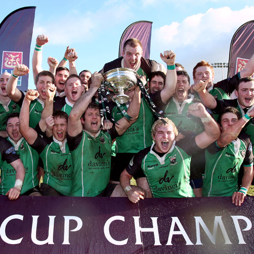 City of Derry won the AIB Junior Cup this year