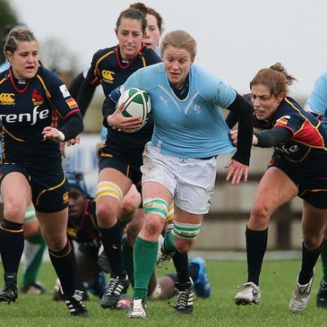 Claire Molloy is the current Ireland Women's Sevens captain