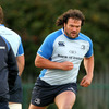 The powerfully-built Clint Newland is itching to make his Leinster debut after his recent arrival from New Zealand