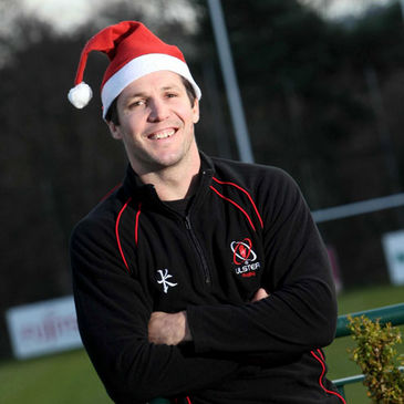 Ulster's Clinton Schifcofske gets in the festive spirit