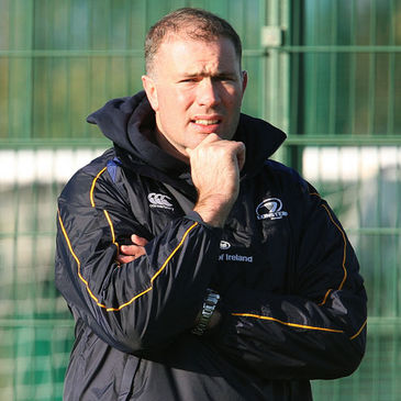 Leinster's British & Irish Cup coach Colin McEntee