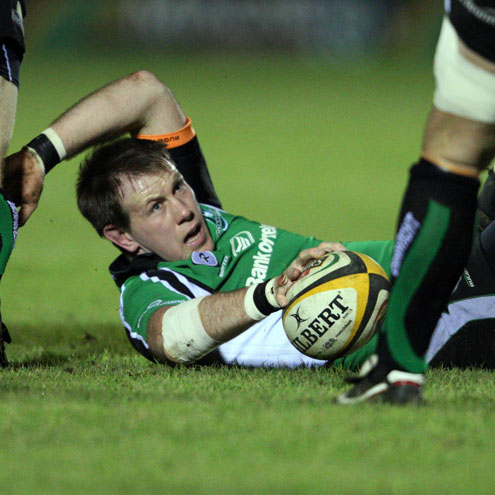 Colm Rigney in action for Connacht