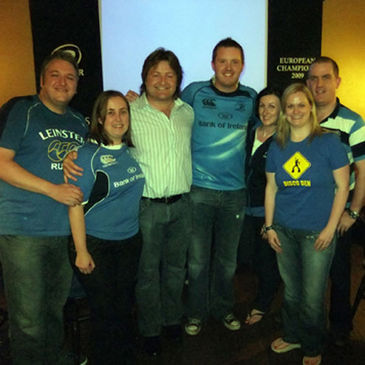 Shane Byrne with members of the OLSC Committee
