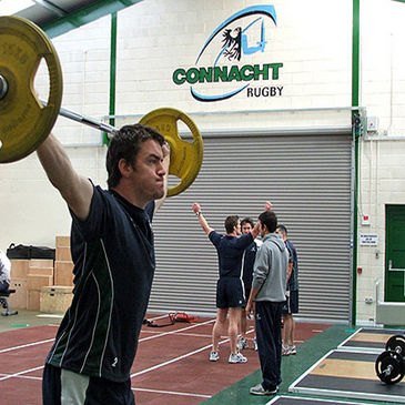 The Connacht gym at the Sportsground