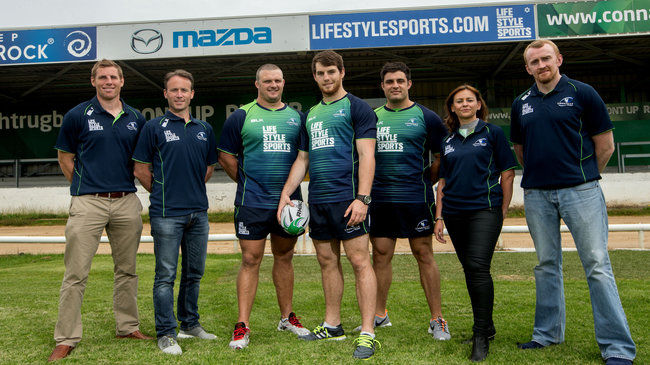 Life Style Sports are Connacht's new title sponsors