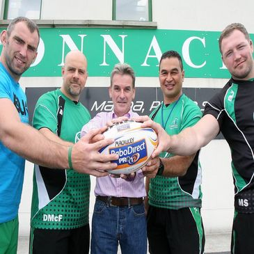 Connacht are supporting Kevin Whelehan's 'Shave or Dye' event