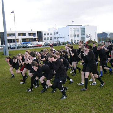 The kids having fun at one of the recent Connacht Extravaganzas