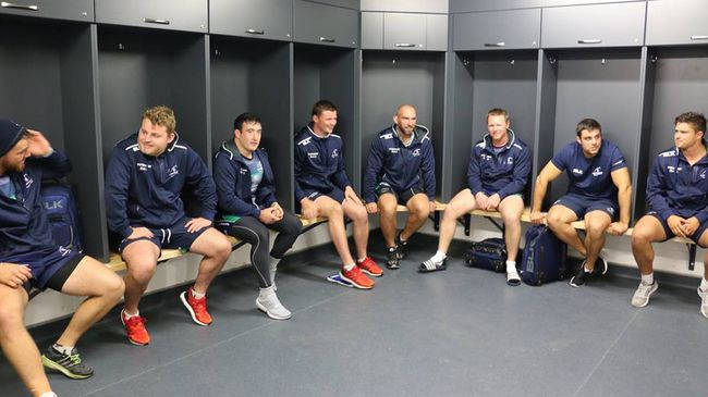 Connacht Players Settle Into New Dressing Rooms