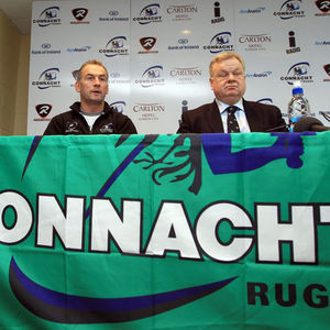 IRFU/Connacht Rugby Announcement In Dublin And Galway, Friday, December 3, 2010