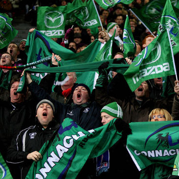 The Connacht fans were out in force during the province's maiden Heineken Cup campaign