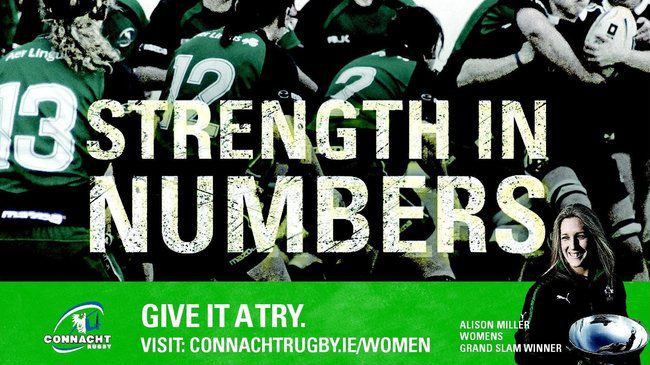 Connacht's 'Strength in Numbers' campaign