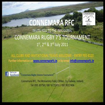 Get ready for the Connemara Sevens tournament