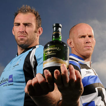 Connacht's John Muldoon and Johnny O'Connor