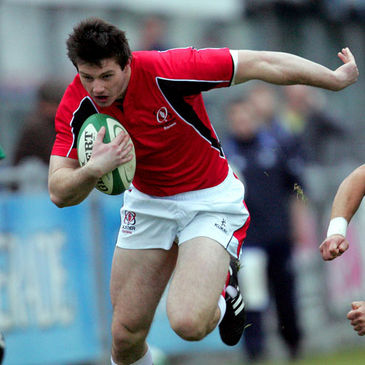 Conor Gaston in action for Ulster Ravens