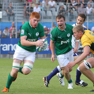 Conor Joyce in action against Australia