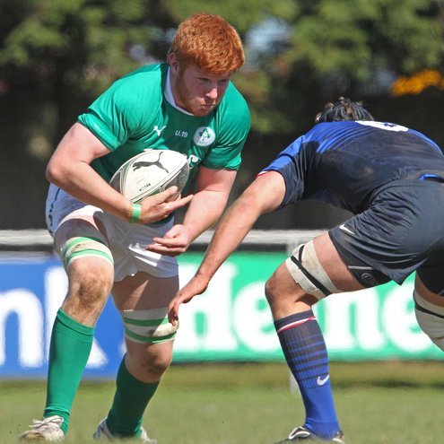 Conor Joyce in action for the Ireland Under-19s