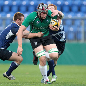 Conor Kindregan in action for the Connacht Under-20s